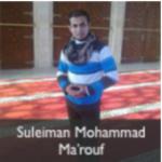 suleiman mohammad marouf