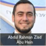 abdul rahman ziad abu hein